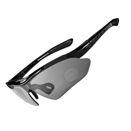 Rockbros Polarisiert 5 Objektiv Radfahrer Brille UV400 Außen Sports Sonnenbrille