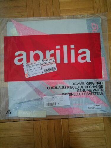 GENUINE APRILIA SR50 DITECH 00-04 NEW DECALS STICKERS AP8267408