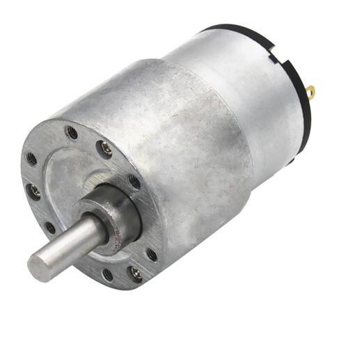 Boîte de Engrenage Moteur 37GB-520 12V DC Réduction Vitesse Turbine à Couple