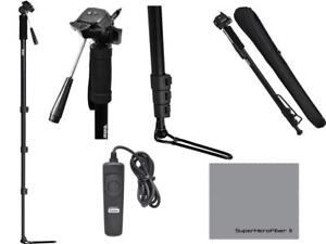 72-034-SPORTS-MONOPOD-FOOT-STAND-REMOTE-FOR-CANON-REBEL-T3-T4-T5-T6-XS-XT