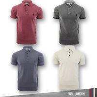 Mens Polo T-shirt Soul Star Casual Plain Classic Cotton Short Sleeve Tee Top new