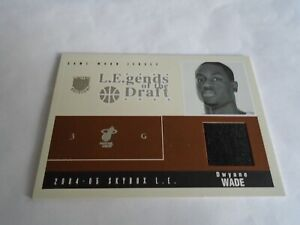 2004-05-SKYBOX-L-E-DWYANE-WADE-GAME-WORN-JERSEY-103-RARE-SP-LOOK-MIAMI-HEAT