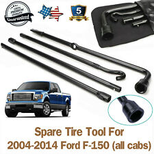 New Spare Tire Jack Tire Change Tool Kit Oem Withbag For 2004 2014 Ford F 150 Oem Fits Ford