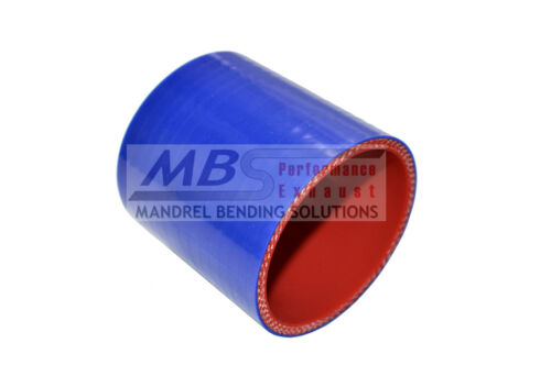 """SILICONE STRAIGHT COUPLER 2 1//2/"""" 2.50/"""" BLUE 5 PLY HOSE INTERCOOLER TURBO MBS"""