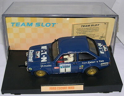 Kinderrennbahnen Dashing Team Slot 74301 Ford Escort Mkii #1 Rac 1979 Resine Lted.ed Save 50-70%
