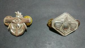 ISRAEL-ARMY-IDF-metal-pin-2-badges-military-Collectible