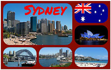 SYDNEY, AUSTRALIA - SOUVENIR NOVELTY FRIDGE MAGNET - NEW - GIFT / XMAS