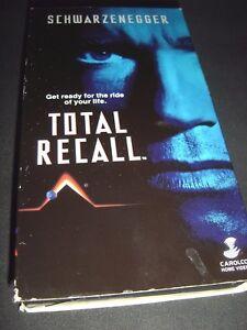 Total-Recall-VHS-1990-Arnold-Schwarzenegger-Philip-K-Dick