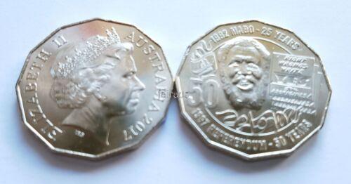 1 x 2017 Uncirculated MABO Pride /& Passion commemorative 50 cent unc ex RAM bag