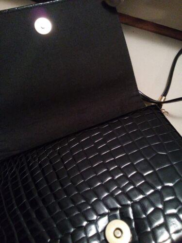 Borsa In Elegante leggera Tbe Uk Clean mano Croco Made borsa clutch a Imitation OqrOfA