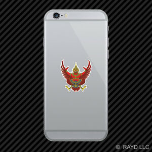 Thai emblem cell phone sticker mobile thailand flag tha th for Thailand mobel