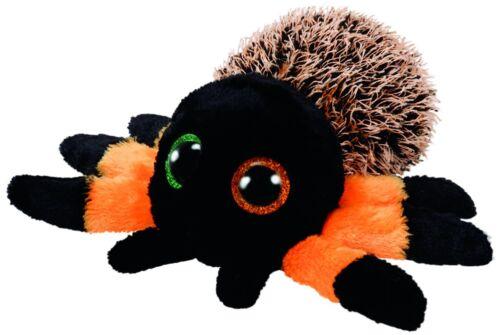 Beanie Boos TY Peluche Originale Hairy The Orange Ragno 15cm Occhioni Grande