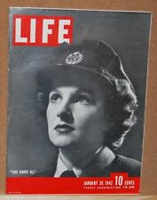 Life Magazine January 26, 1942 This Above All  Good Condition