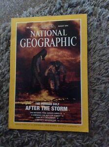 NATIONAL GEOGRAPHIC MAGAZINE AUGUST 1991 - Fochabers, United Kingdom - NATIONAL GEOGRAPHIC MAGAZINE AUGUST 1991 - Fochabers, United Kingdom