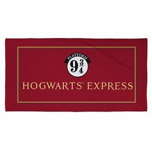 Harry-potter-Poudlard-Express-Plage-Serviette-Enfants-Plage-Bain
