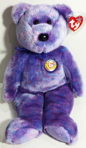 "TY Beanie Buddy /""CLUBBY IV/"" the Official Club TEDDY BEAR ~ MWMTs NEW! RETIRED"
