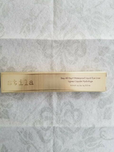 NIB Full Size Stila Stay All Day Waterproof Liquid Eye Liner in