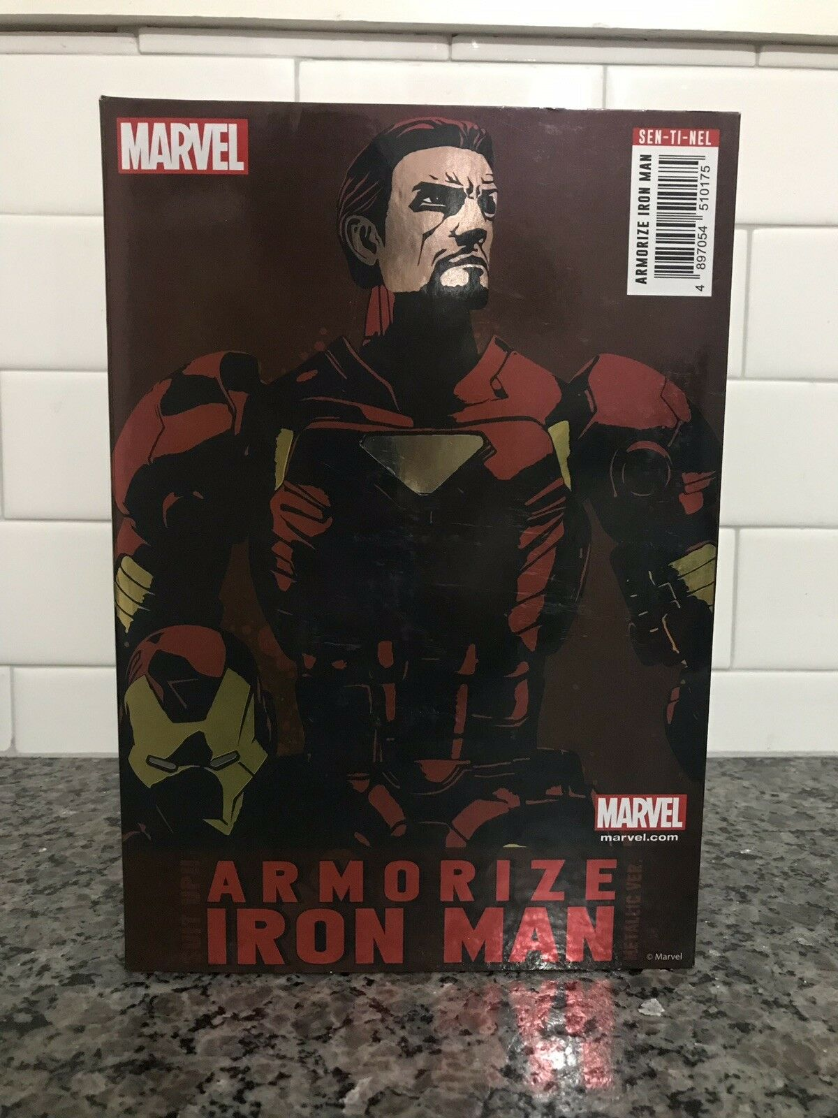 Marvel Armorize Iron Man Brand New In The Box