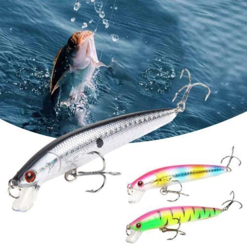10cm Sinking Bionic Fishing Lures Hook Fake Crank bait Artificial Hard Bait G8J0