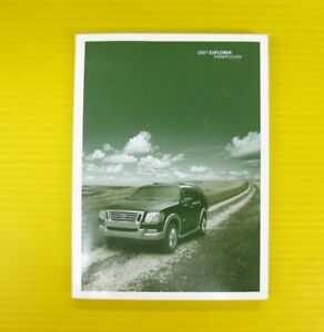 2007 ford explorer owners manual