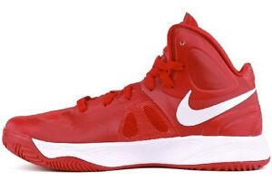 c77212f62b38 Nike Hyperfuse TB Gym Red   White 525019-600 size 10.5 13 Basketball ...