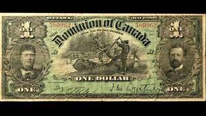 1897-Dominion-Of-Canada-1-RARE-F-VF