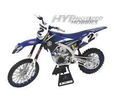 Neu Ray 1:12 Yamaha YZF 450 Druckgegossen Spielzeug Modell Motocross Blau 2014