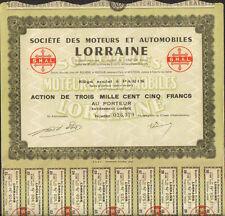 Moteurs & Automobiles LORRAINE (R)