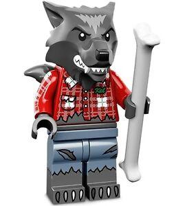 LEGO-Minifigures-Series-14-Monsters-halloween-Wolf-Guy-werewolf-bone