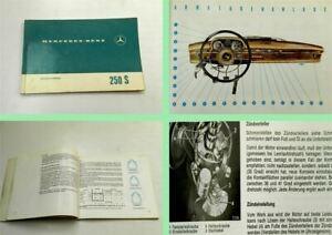 Mercedes-Benz-250S-W108-Betriebsanleitung-Bedienungsanleitung-1969