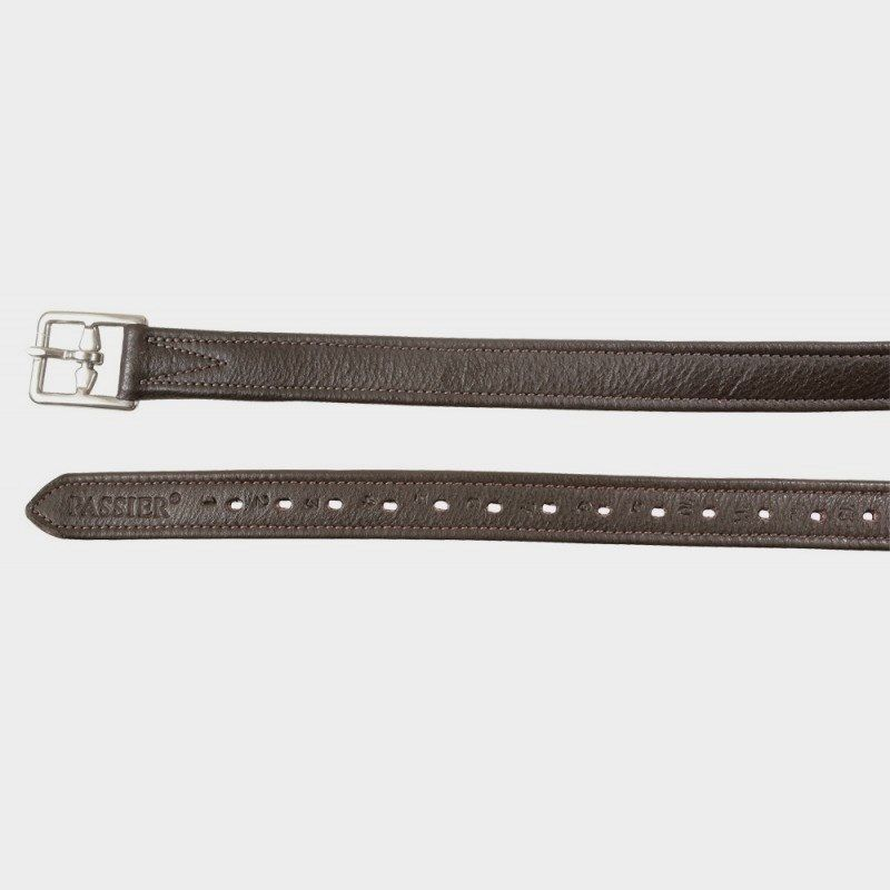 Passier Lined English Stirrup Leathers - Havana  Brown - ALL SIZES  clearance