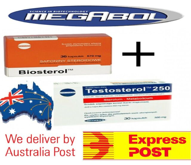 MEGABOL Biosterol stack | Testosterone Booster Increase Muscle Gain & Strength