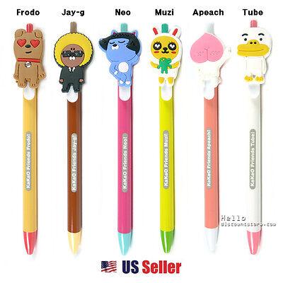 Pink and Mint Available Kakao Talk Kakao Friends Sweet Apeach Slim Gel Pen