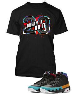 23-To-match-Air-Jordan-9-Dream-It-Do-It-Shoe-Mens-Pro-Club-Tee-Shirt-Sm-10x
