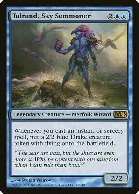 Sky Summoner Magic 2013 Talrand M13 NM Blue Rare MAGIC MTG CARD ABUGames