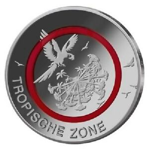 ALLEMAGNE-5-EURO-2017-Zone-Tropicale-Meth-site-034-G-034-Tampon-Brillance