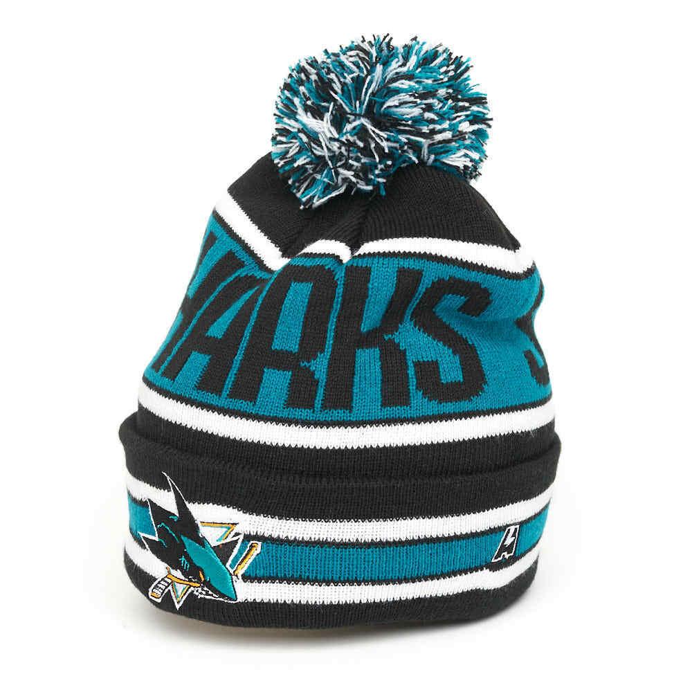 Zephyr Cuff Beanie Hat with POM POM NHL Cuffed Winter Knit Toque Cap