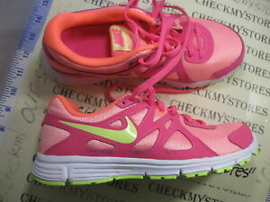 3a106ada4017a Details about NIB New Nike Revolution 2 555090 100 YOUTH BIG GIRLS ATHLETIC  SHOES