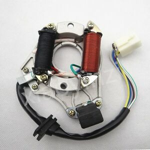 Details about Ignition Stator Magneto Plate for Chinese 50cc 110cc 125CC  ATV Quad 2 Coils