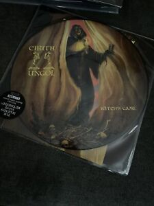 Cirith-Ungol-034-Witches-Game-034-2018-Limited-Edition-Picture-Disc-EP-and-Poster