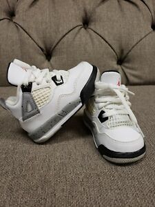 Baby Jordans Size 5c Retro White Cement