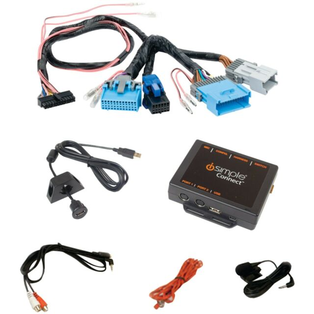 Sirius /& HD Radio iSimple ISGM655 CONNECT Kit for USB Devices Bluetooth
