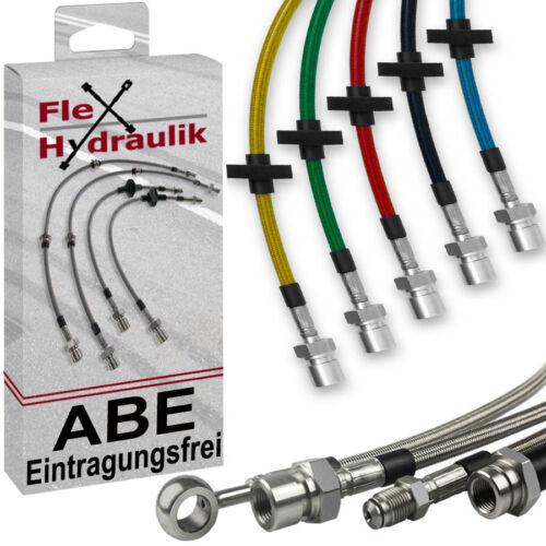 E46 BMW 3er Coupe 328 Ci 193PS Stahlflex Bremsschläuche Leitungen ABE 2915