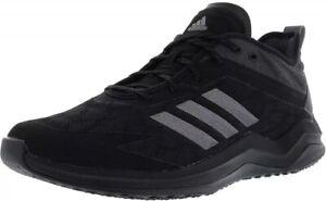 Adidas-Men-Speed-Trainer-4-Baseball-Turf-Shoe-Size-8-5-Black-Carbon-CG5135-1281