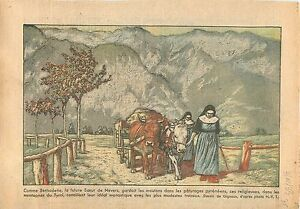 """Sisters Religious Religieuse Montagne du Tyrol Autriche Austria Catholique 1933 - France - Commentaires du vendeur : """"OCCASION"""" - France"""