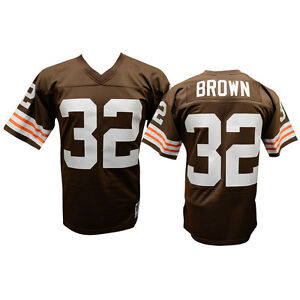 jim brown cleveland browns jersey