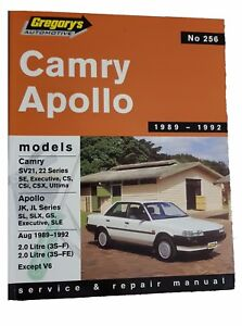 Gregorys-Toyota-Camry-Holden-Apollo-1989-1992-Service-and-Repair-Manual