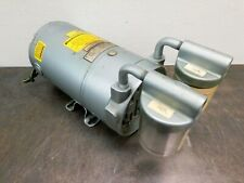 Gast Vacuum Pump 0522 V016 G210x 14 Hp 220 Vac 1 Phase With Canisters