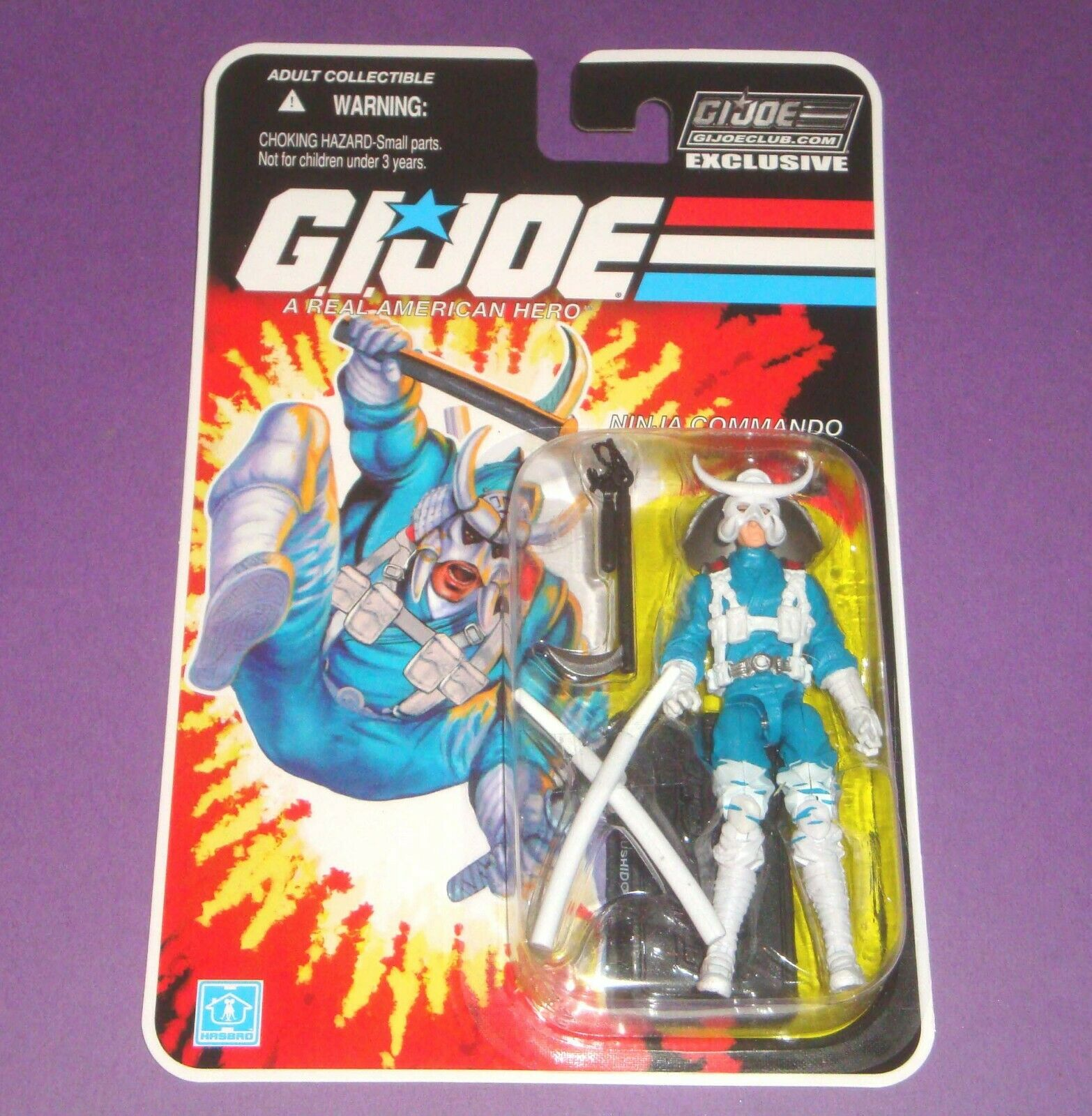 Bushido - FSS 8.0 - Sealed New MOC - GIJOE Figure