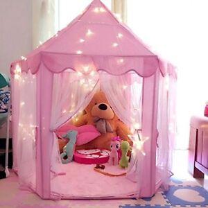 Kids Childrens Play Tent Indoor Outdoor Playhouse Tinkerbell Winx